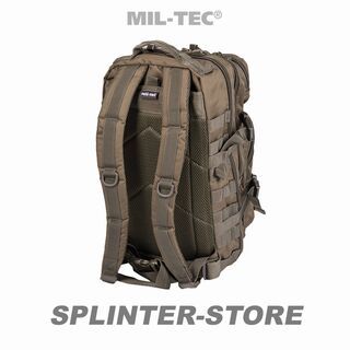 US Assault Pack olive Kompressionsrucksack