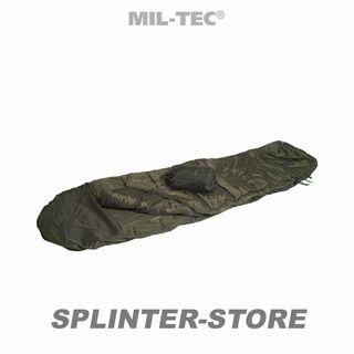 Schlafsack Pilot olive Armeeschlafsack Militärschlafsack NATO-Shop