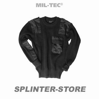 MILTEC Pullover SECURITY, schwarz