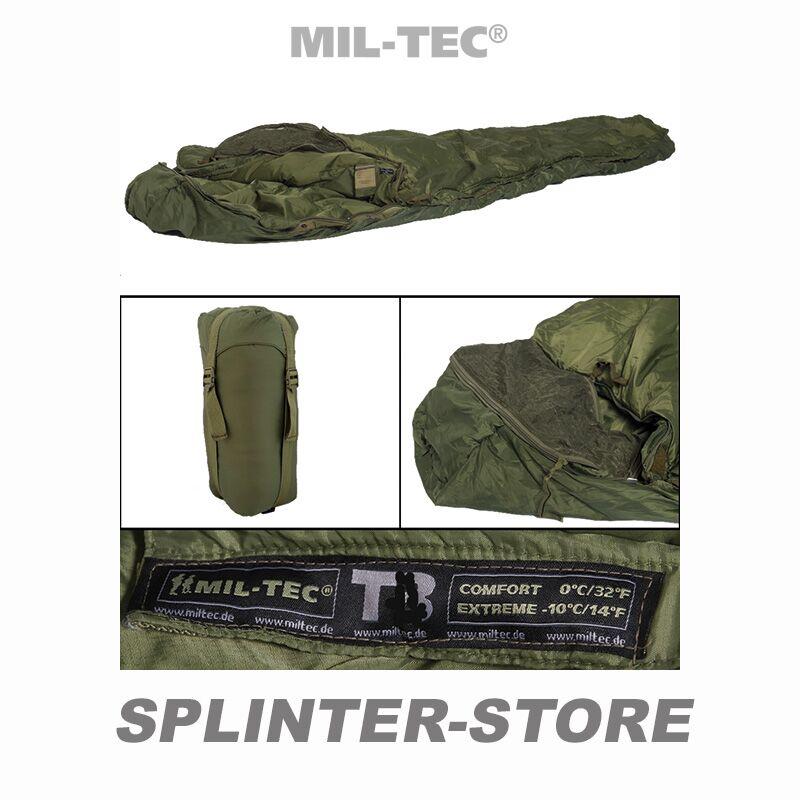 Schlafsack Commando flecktarn Armee-Schlafsack Militärschlafsack
