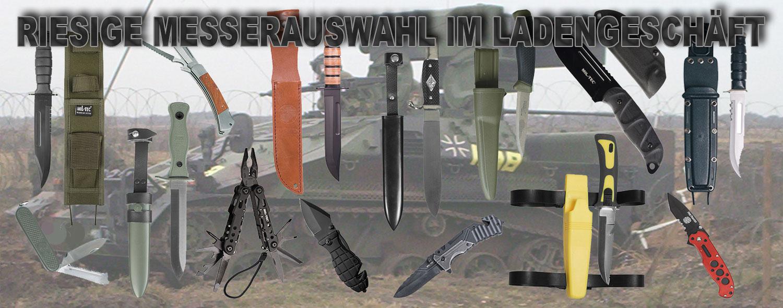 Messer in Chemnitz kaufen Kampfmesser Taschen