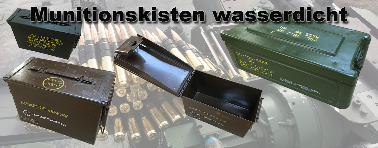 Munitionskisten Transportkiste Munition